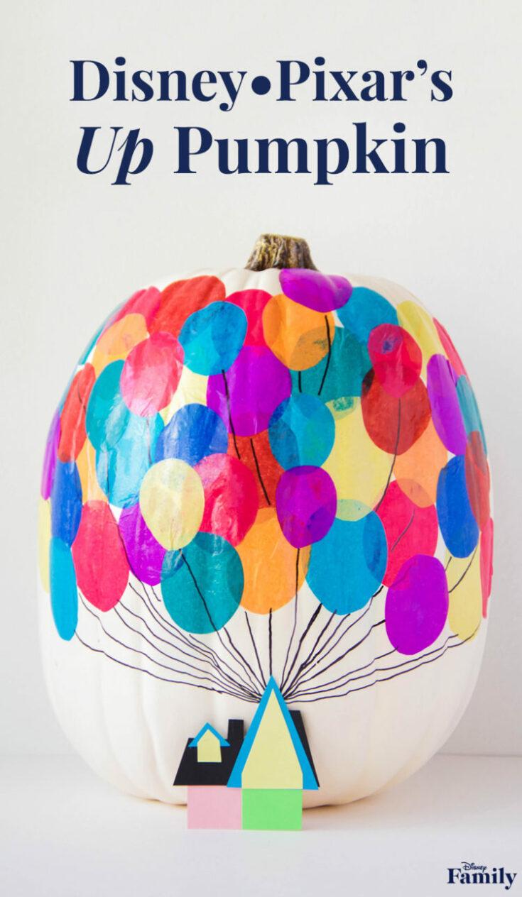 DIY a Pumpkin Inspired by Disney•Pixar's 'Up'