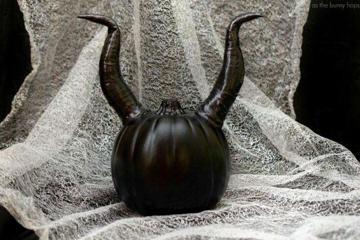 Well, Well... Make A Maleficent Pumpkin For Halloween!