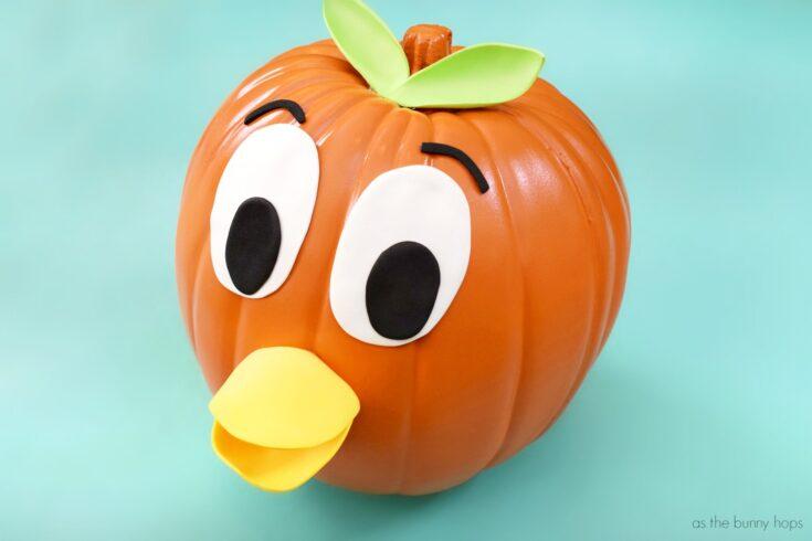 Walt Disney World's Orange Bird Pumpkin - As The Bunny Hops®