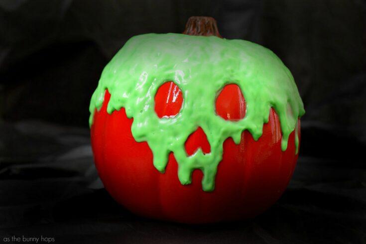 Glow In The Dark Poison Apple Pumpkin