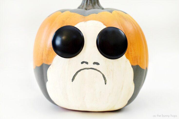 Star Wars-Inspired Porg Pumpkin
