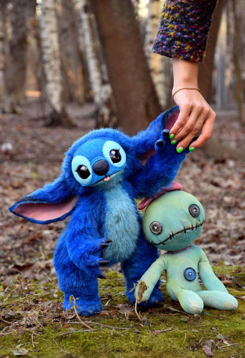 Stitch and Scrump by Gakman Creatures